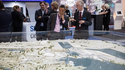 Real Estate Developers Held a Conference in the Midst of London's Housing Crisis
