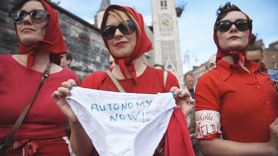Protesting Ireland's Illegal Abortions