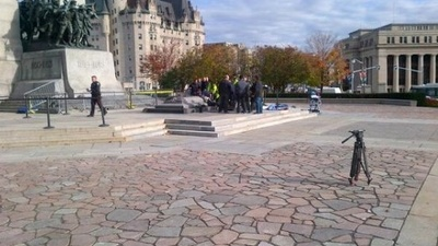 Breaking News: Shooter at Canadian Parliament