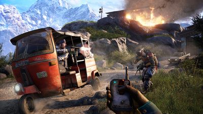 'Far Cry 4' Is the Same Purring Engine with a Fresh Lick of Killer Paint