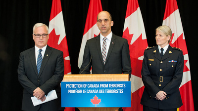 Canada Is Considering New Spy, Surveillance, and Detention Powers Because of Two Extremist Crimes