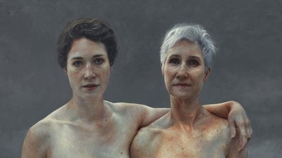 This Young Artist Is Obsessed with the Naked Bodies of Older Women