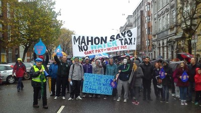 Irish People Are Finally Taking to the Streets Against Austerity