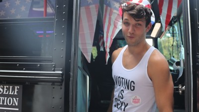 I Spent Election Day Getting Out the Vote with Male Models from 'Cosmo'