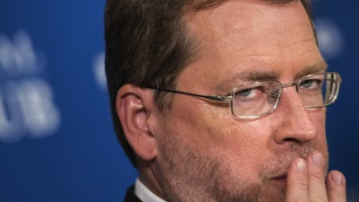 Partying with Anti-Tax Crusader Grover Norquist on Election Night