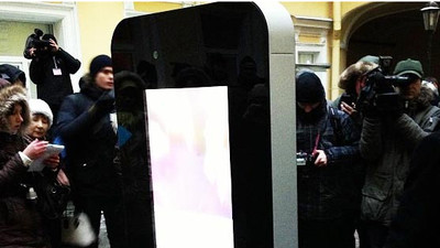 The Story Behind the Tearing Down of the Russian iPhone Monument