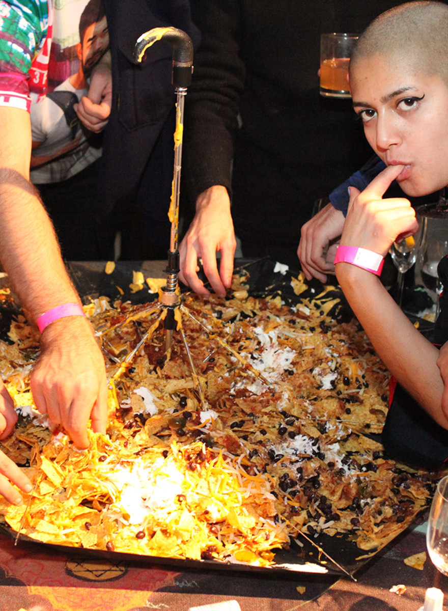 New York's Only Free Art School Held a Nacho-Filled Fundraiser
