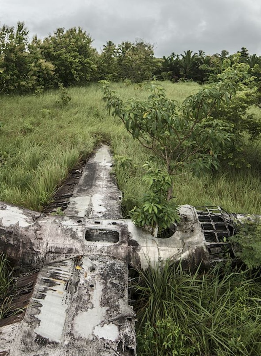 The Man Who Photographs Plane Wrecks