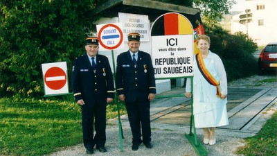 The Republic of Saugeais Isn't Recognized by Anyone, but It's OK with That