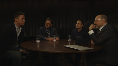 Steve Carell, Channing Tatum, and Mark Ruffalo Discuss Their New Film 'Foxcatcher'