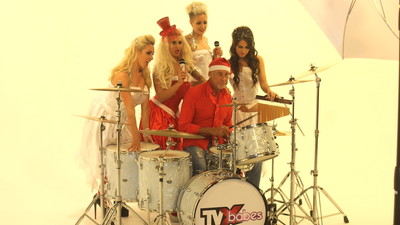We Went to the Video Shoot for a Christmas Single Made by Pornstars