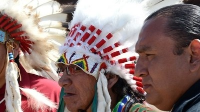 Native American Tribes Are Ready to Go to War over the Keystone Pipeline