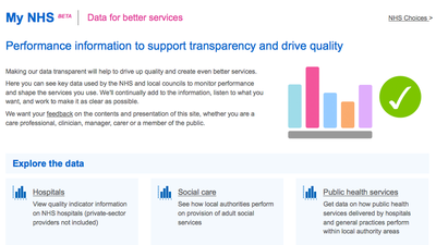 MyNHS, the Government's New Healthcare Website, Is Potentially Classist