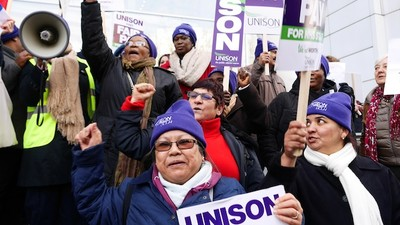 The UK's National Health Service Workers Are on Strike