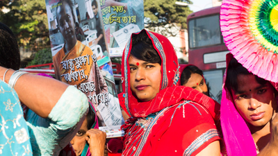 In Photos: Bangladesh's Trans Pride Parade Was Massive and Fabulous