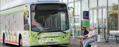 All Aboard the UK's First Shit-Powered Bus