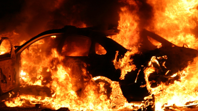 Gunshots, Flames, and Chaos in Ferguson Following Grand Jury Decision
