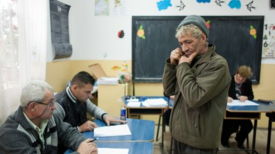 Hanging Out in Romania's Most Illiterate Village on Voting Day
