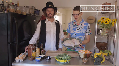 How-To: Make Deep-Fried Turkey Balls with TJ Miller and Andy Windak