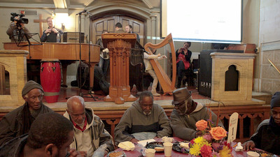 This is How ​New York's Record-Breaking Homeless Population Celebrates Thanksgiving