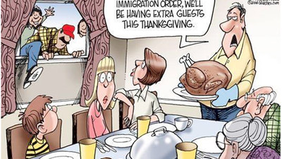 Thanksgiving Is the Least Racist Holiday America Has