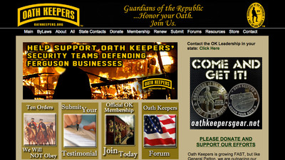 The ​Leader of Oath Keepers Says the Right-Wing Group Is in Ferguson to 'Protect the Weak'