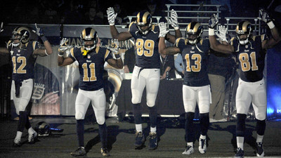 ​St. Louis Rams Players Pissed Off a Missouri Police Union