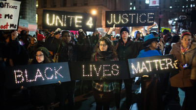 Eric Garner Protests Raged On Thursday in New York City