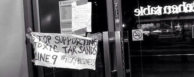 Activists Across Ontario Are Targeting Enbridge's Associates