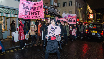 I Marched Through London Last Night in Support of Britain's Sex Workers