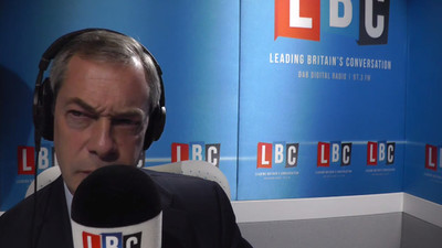 The UK's Nigel Farage Defended the Use of the Word 'Chinky'