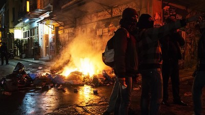 Violent Protests in Athens: Greece's Young Anarchists - Part Two
