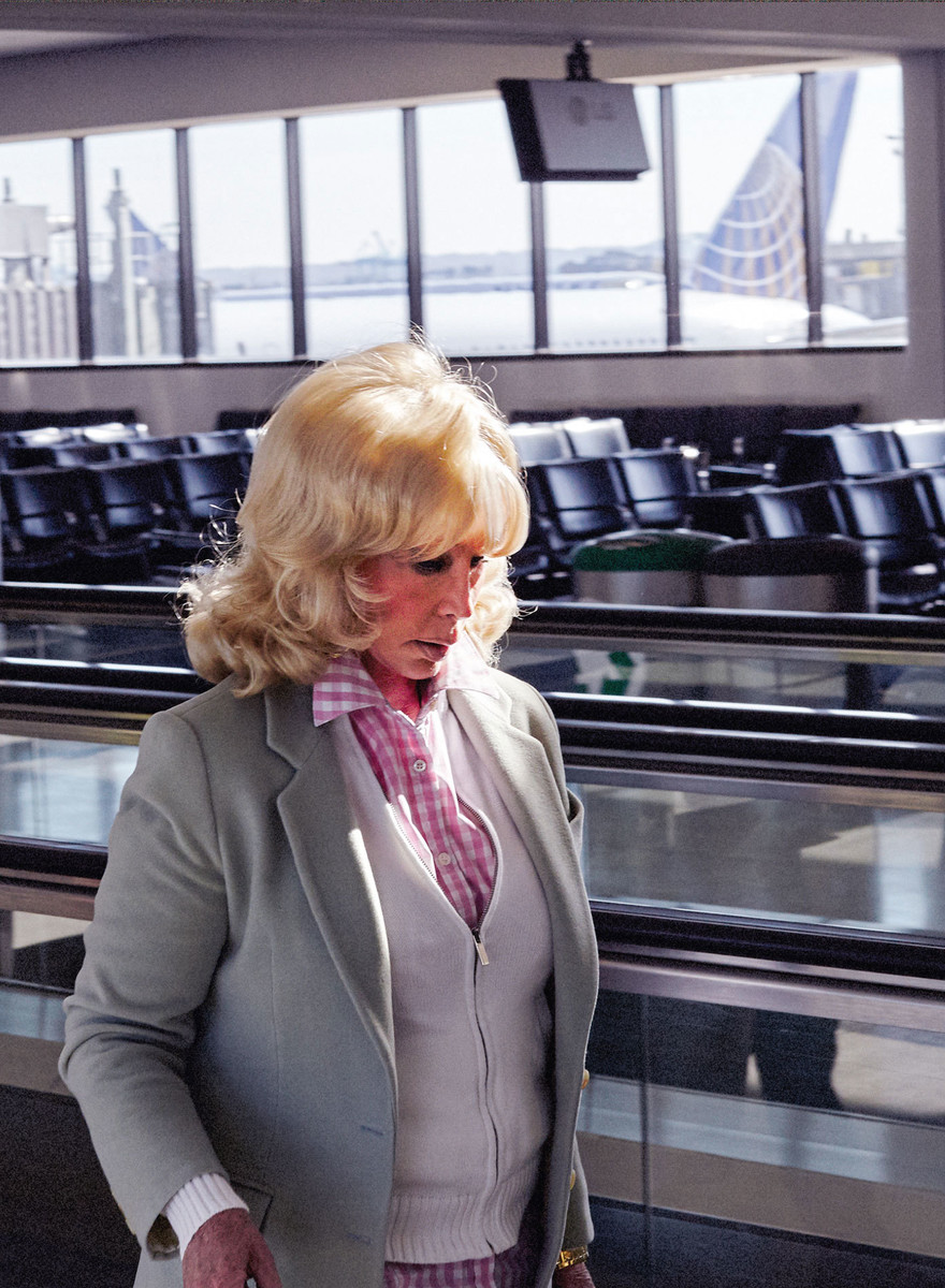 Photos of People Doing Nothing in Particular in Airports