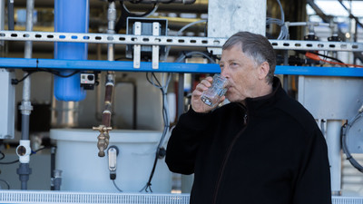 Bill Gates Wants You to Drink Turd Water