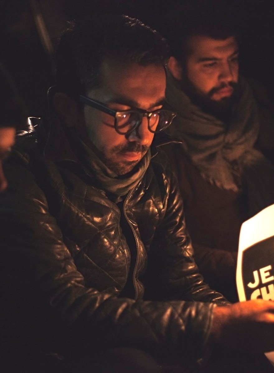 Meeting the Londoners at Last Night's 'Charlie Hebdo' Solidarity Vigil