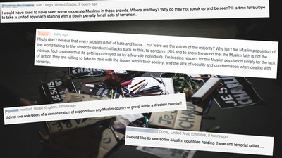 Internet Commenters: This Is Why Other Muslims and I Won't Apologize for the 'Charlie Hebdo' Attacks
