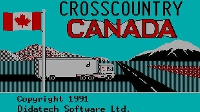 Experience the Ennui of Canadian Truck Drivers with This Computer Game from 1991