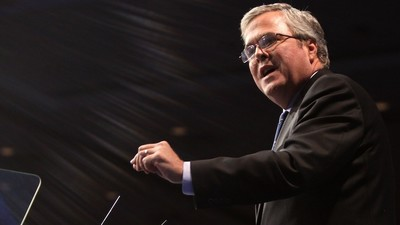 Jeb Bush vs. Mitt Romney: Who Will Win the Rich White Guy Faceoff?