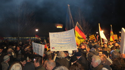 Pegida hat kein Nazi-Problem