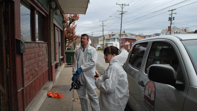 The Hard, Grim Work of Cleaning Up Meth Labs in West Virginia