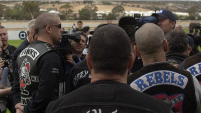 Australia's Rebels Motorcycle Gang Rejected the Sydney Siege Gunman for Being Irrational