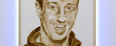 ​This Poo Painting of Mark Zuckerberg Is the Digital Era's 'Piss Christ'