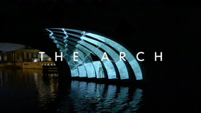 Guerilla-Projection-Mapping im Berliner Monbijoupark