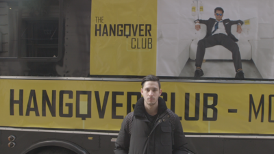 I Tried to Cure My Hangover with an IV Drip on a Party Bus
