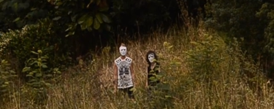 A Masked Couple Creeped the Shit Out of Auckland Yesterday
