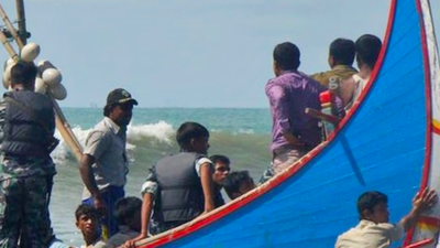 Dozens of Migrants Bound for Malaysia Are Feared Dead as a Trawler Sinks in the Bay of Bengal