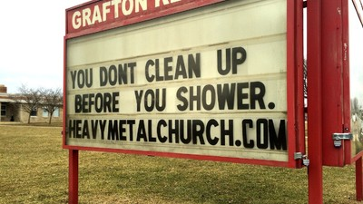 I Spent Sunday in America's First Heavy Metal Church of Christ