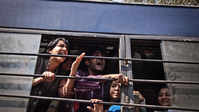 Free Love Protesters in Delhi Spent Valentine's Day Being Chucked in Police Vans