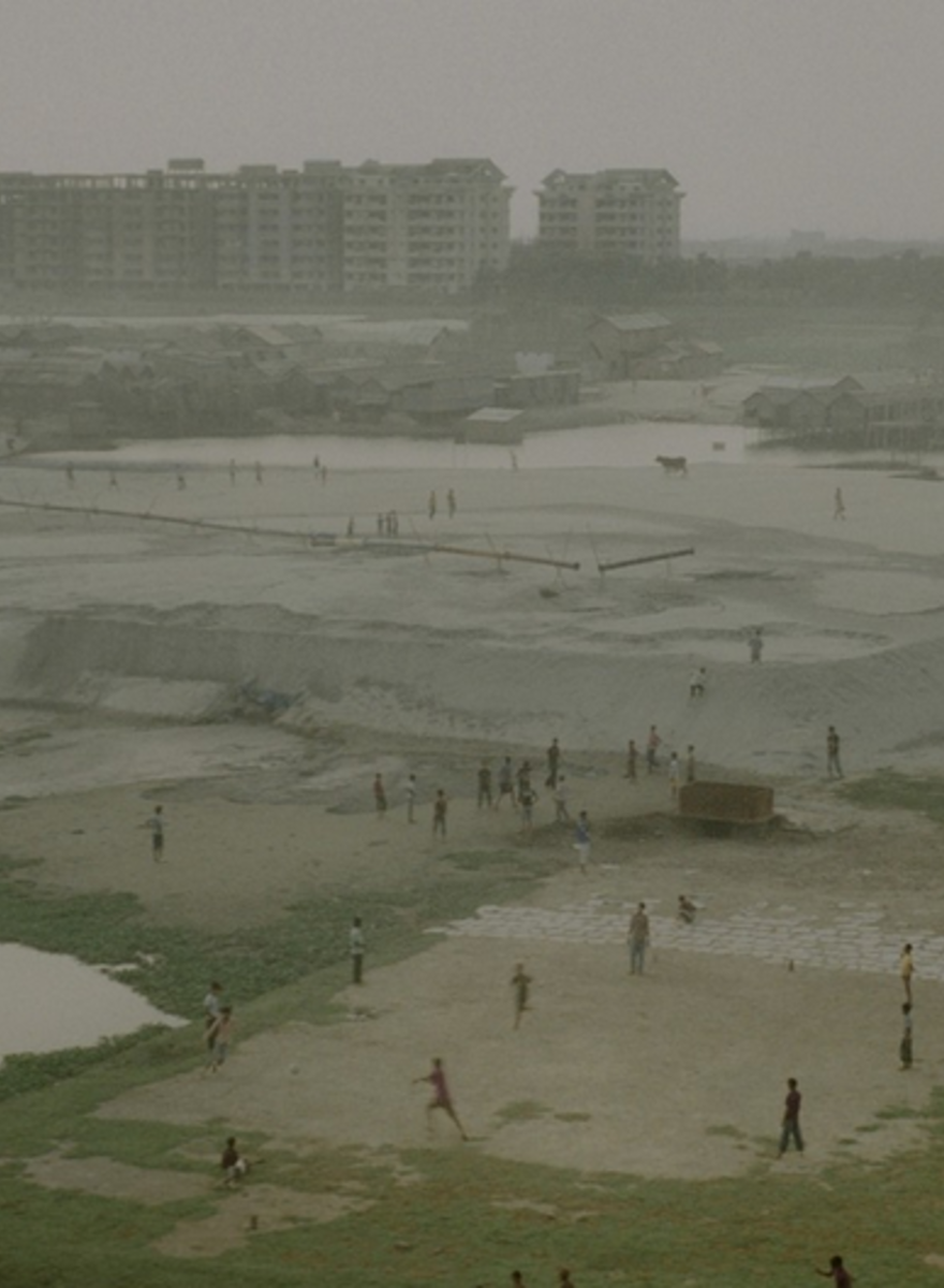 Photographs of  Bangladesh's Dying Buriganga River