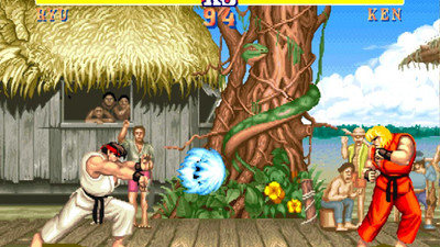 Street Fighter in the UFC: Hadoukens and Izuna Drops